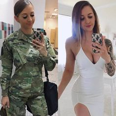 @fit.and.styled US ARMY  Follow  @army_prides #shecandoboth #curves #curvesncombatboots #militarywoman #military #womeninuniform #strongwomen #womenempowerment
