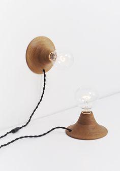 Handmade Lighting from Portland, Oregon: Aurora Lamp by Good Flock