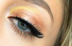 Sunset cateye  #bloo  jagnamakeup.blogspot.com