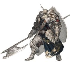 heavy armor knight.