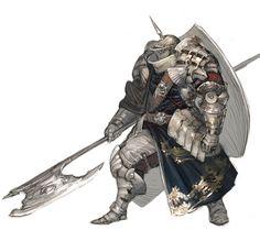 heavy armor knight.
