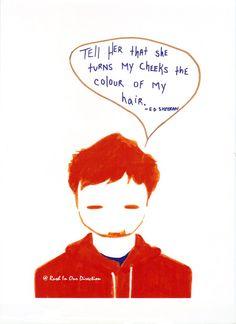 One Night- Ed Sheeran. $5.00, via Etsy.