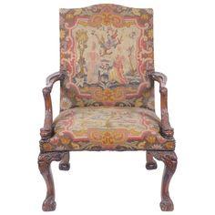 Antique 19th Century Gainsborough Style Armchair 1835
