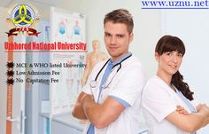 The Uzhhorod National University refers the bachelor degree in general medicine and postgraduate course and well sustain facilities and English language programs for international students.