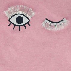 T-Shirt Clin D'Œil Lola Blink Rose ANNE KURRIS