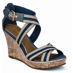 Wedge Sandals.