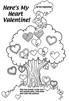 Valentines Day Coloring Pages Blog Posts Pinterest Valentine