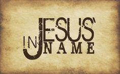 Jesus Name HD Wallpaper