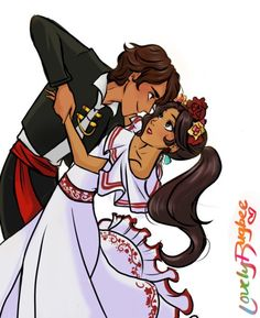 Was this... newfound confidence she was seeing in him? | Mateo x Elena dancing | matena | Elena of Avalor