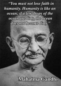 "Mahatma Gandhi Quotes can hurt me without my permission.""- Mahatma Gandhi may never know what results come of your actions, but if you do no. Wisdom Quotes, Quotes To Live By, Me Quotes, Motivational Quotes, Inspirational Quotes, Strong Quotes, Change Quotes, Attitude Quotes, Sober Quotes"