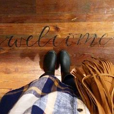 I want to do this to my floor!! love and lion: My trip to the GRAND OPENING AT MAGNOLIA MARKET SILOS