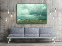 """""""Stormy"""" Leinwand 120x80 cm"""