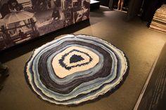 Tapete Ágata azul de Francesca Alzati