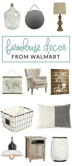 Have you shopped at Walmart for home decor lately? You should! Check out my picks for Walmart farmhouse decor, and prepare to be surprised. ** Learn more about home decor by visiting the image link.