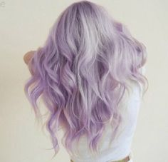 I wanted Lavender hair so bad last summer. Sadly I forgot my dads colour blind…