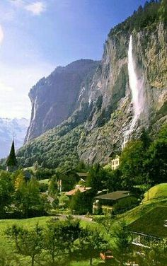Waterfall Village, Switzerland