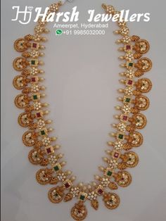 Latest Bindi mala in pachi work ruby and emeralds combination from Harsh Jewellers India Jewelry, Gold Jewelry, Bindi, Gold Gold, Emeralds, Jewelry Collection, Gold Jewellery, Emerald, Native Indian Jewelry