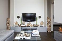 wohnzimmer deko landhausstil wohnzimmer modernes landhaus and ...