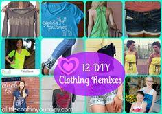 12 diy clothing remixes diy diy clothes, diy и diy fashion Cinch Clothing, Diy Clothing, Diy Clothes Videos, Clothes Crafts, Diy Fashion, Trendy Fashion, Fashion Brands, Fashion Ideas, Fashion Tips