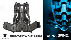 VERTEPAC: World's First Backpack With Its Own Spine. project video thumbnail