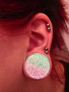 Stretched earlobes