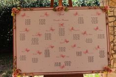 rose e farfalle creato.  Elisabetta Morello