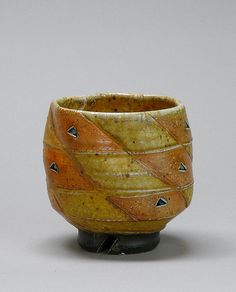 Jeff Oestreich, tea bowl, soda fired