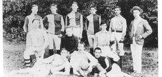 First Fulham Football Club team photo, 1886..