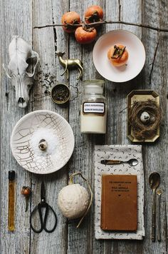 still life with implements