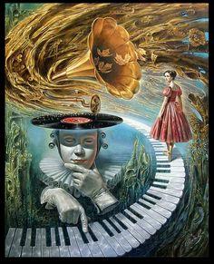 Коллекция картинок: Сюрреализм художника Michael Cheval (Михаила Хохлачева)