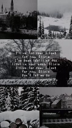 Olivia Winter Lockscreen | ctto: @stylinsonphones