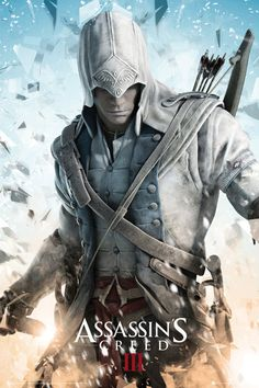 Assassin's Creed III Poster  (Connor, Video Game Posters)