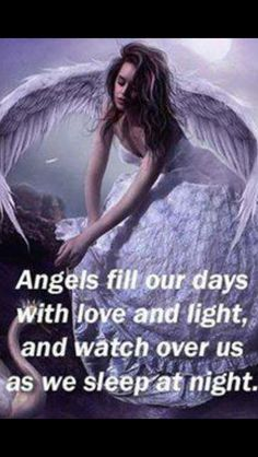 Glad we got Angels! To watch over us when we are apart