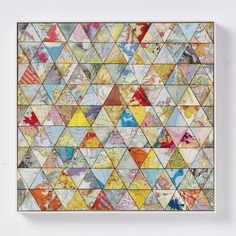 "Saatchi Art Artist: Amelia Coward; Paper 2011 Collage ""Patchwork world two"""