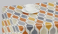 Oilcloth Tablecloth, Tablecloths, Plastic Table Covers, Beautiful Patterns, Juice, Rugs, Squares, Kitchen, Fabrics