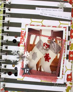 "Photo Scavenger Hunt Day 4 ""Stocking"" #HeidiSwapp"