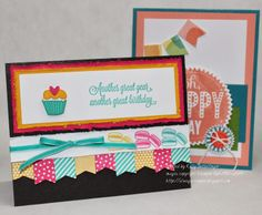 Always Stampin' with Kelly Gettelfinger: Birthday Cards