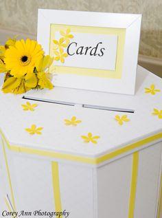 Texas Life: DIY Card Box for Yellow Wedding