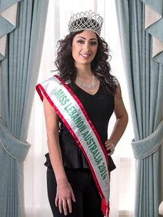 Alumna Serene Kotob, winner of Miss Lebanon Emigrant Australia 2014, wants to inspire young Lebanese women and act as an ambassador to promote the best of Lebanese and Australian traditions #uomalumi