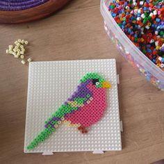Bird hama beads by  laouenanaziliz