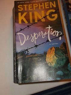 Stephen King Desperation #1 Best seller NY Times Novel Suspense Thriller Scary