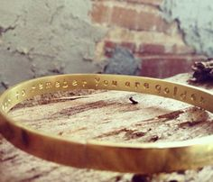 Secret Message Bangle Bracelet - perfect gift, for your friend, bridesmaids, special someone, or family member.