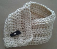 Crocheted Cowl.  Chunky Neckwarmer. Child Baby Toddler Scarf.. $24.00, via Etsy.
