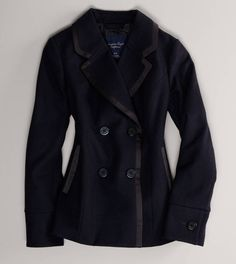 AE Double-Breasted Peacoat