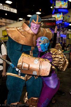Thanos and Nebula
