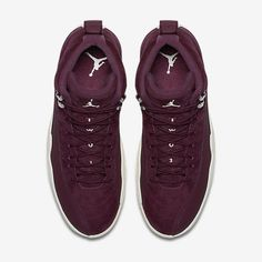 The Air Jordan 12 Bordeaux is featured in its official look and it s  dropping at Jordan Brand stores on October 8dfdf7c961e