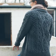 "64 Likes, 5 Comments - Wool Wool Studio (@meganwarre) on Instagram: ""Here's another shot of the back of my #RoweCardigan by @brooklyntweed and @mishi2x photo by the…"""