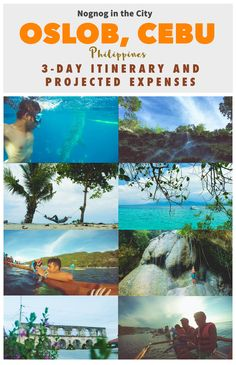 Whale Shark watching, Chasing waterfalls, appreciating ruins and a lot more. Here is my 3-day Oslob, Cebu Philippines itinerary and projected expenses. Full story here: http://www.nognoginthecity.com/2016/06/09/oslob-cebu-itinerary-projected-expenses/