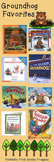 Groundhog Day Books - Fantastic First Grade Froggies