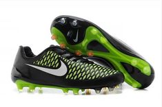 detailed look 74440 429c8 2014 FIFA World Cup Brazil Nike Magista Opus FG soccer boots black green  white